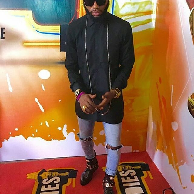 Mr Swanky!!!! headies2016
