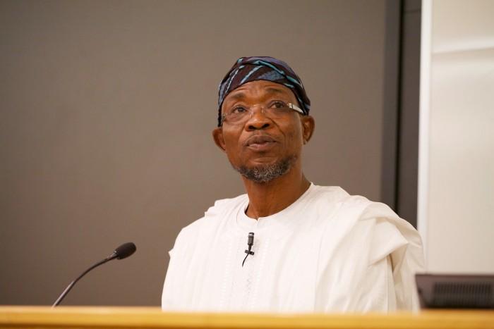 Osun state governor, Rauf Aregbesola