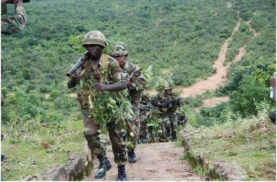 Military, Army Troops, Boko Haram, Texas Chukwu, Army Chief, Herdsmen,