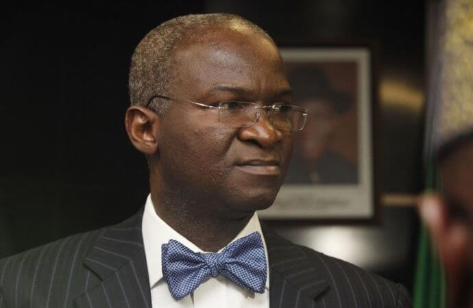 Babatunde Fashola, Works and Housing Minister