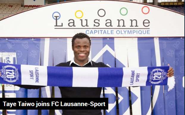 Taye Taiwo joins FC Lausanne-Sport