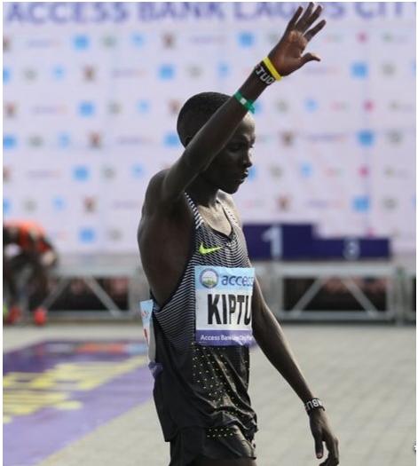Abraham Kipton wins lagos marathon again