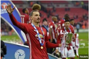 Zlatan Ibrahimovic, Man United striker