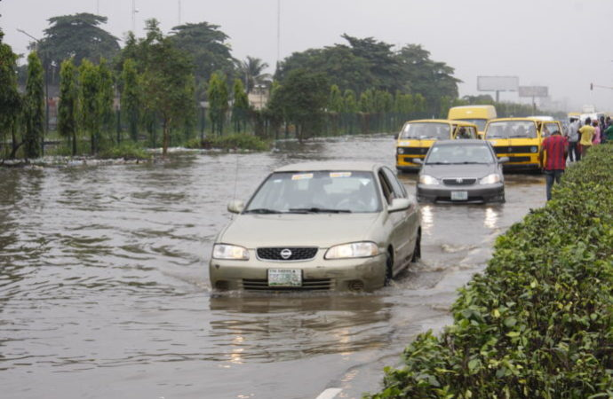 Flood, Aboru, Lagos, Rain