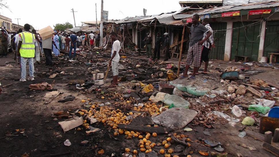 Maiduguri-explosion, boko haram, police