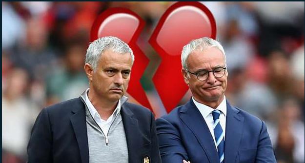 Ranieri and Mourinho
