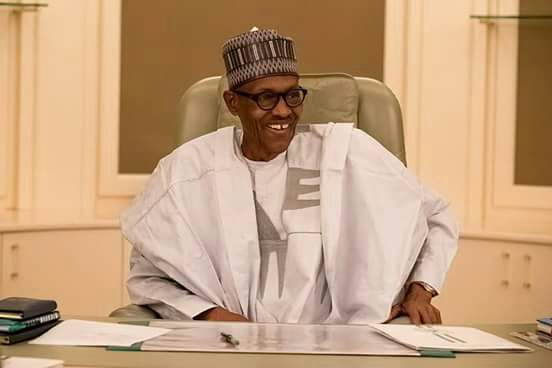 Buhari resumes office
