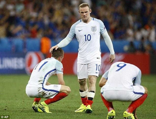 England senior team