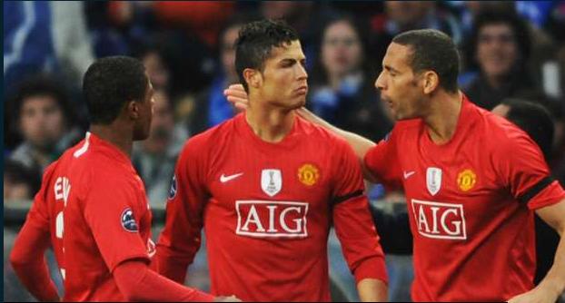 Ferdinand, Evra & Ronaldo