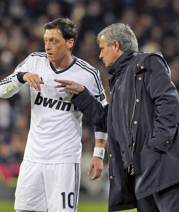 Jose-Mourinho-and-Mesut-Ozil