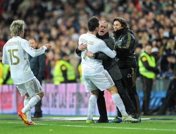 Ronaldo vs Mourinho
