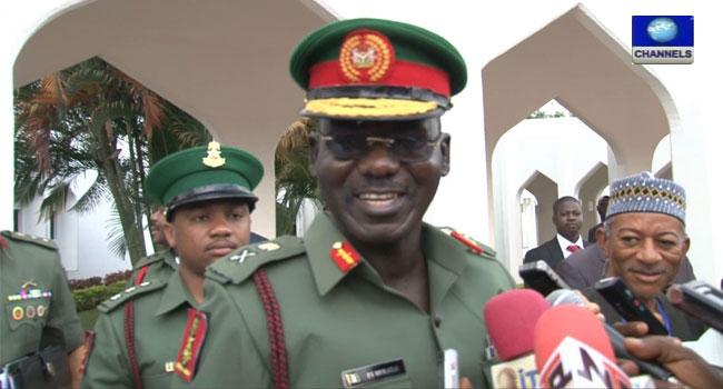Tukur Buratai, Army Chief, Yobe, Boko Haram,