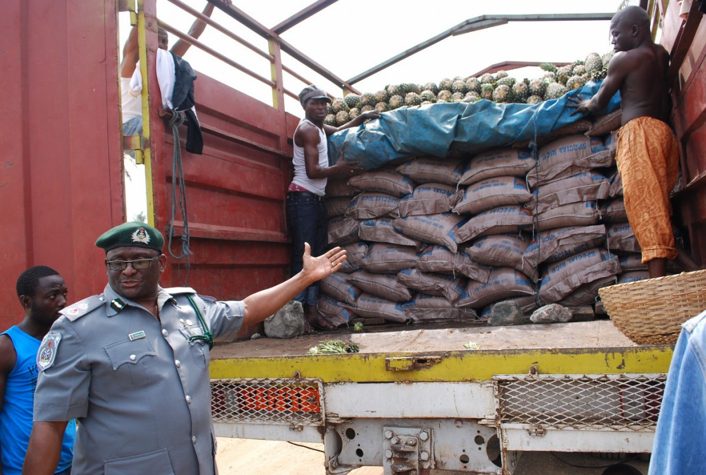 Customs,Ogun,Smugglers,