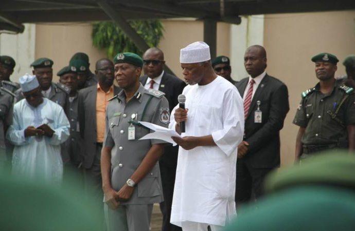 Hameed Ali, Nigeria Customs Service, Borders,