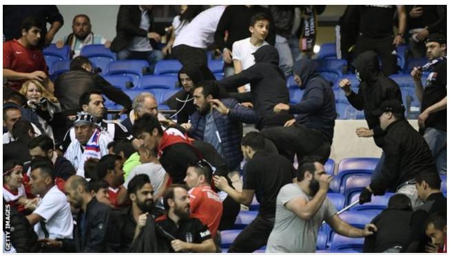 Lyon, Beskistas Fans