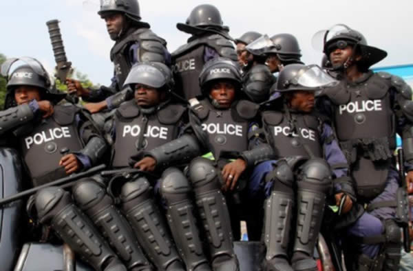 Nigerian-police, gHOST OFFICERS
