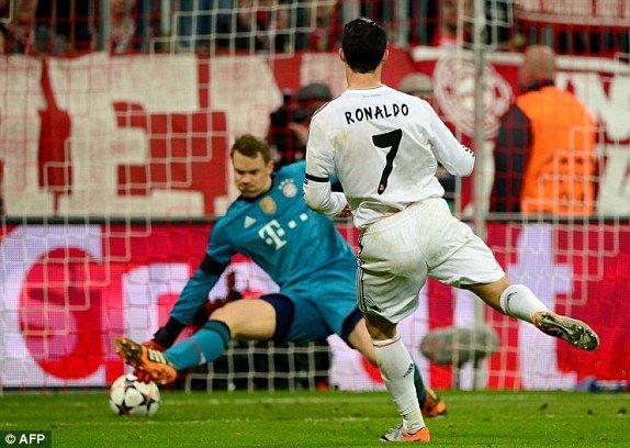 Ronaldo vs Neuer