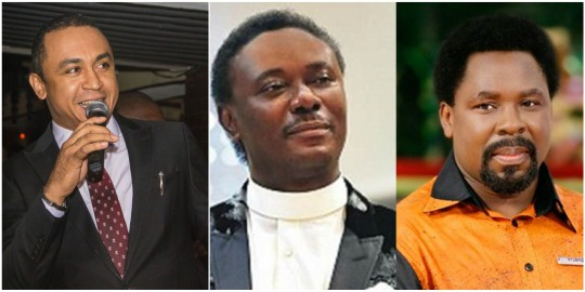 Daddy Freeze, Chris Okotie, TB Joshua