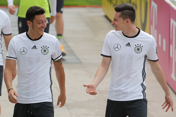 Draxler and Ozil