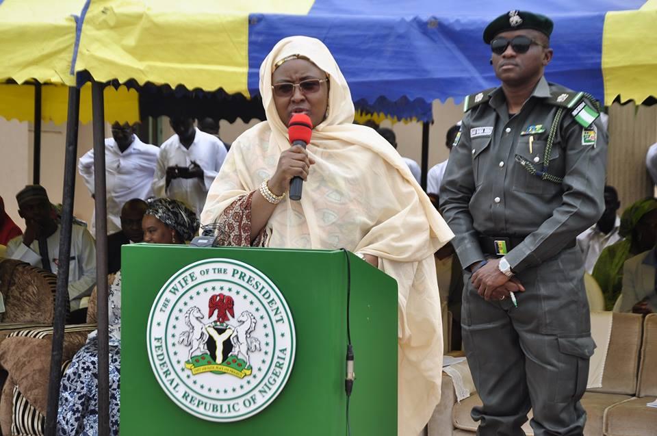 Aisha Buhari, President Buhari, Garua Shehu,