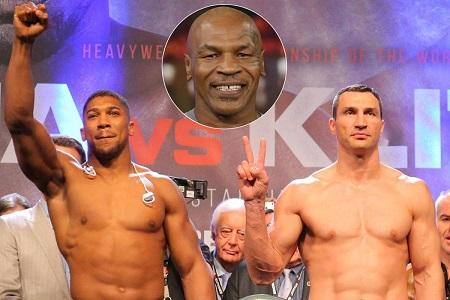 Mike Tyson, Anthony Joshua, Tyson Fury, Deontay Wilder,