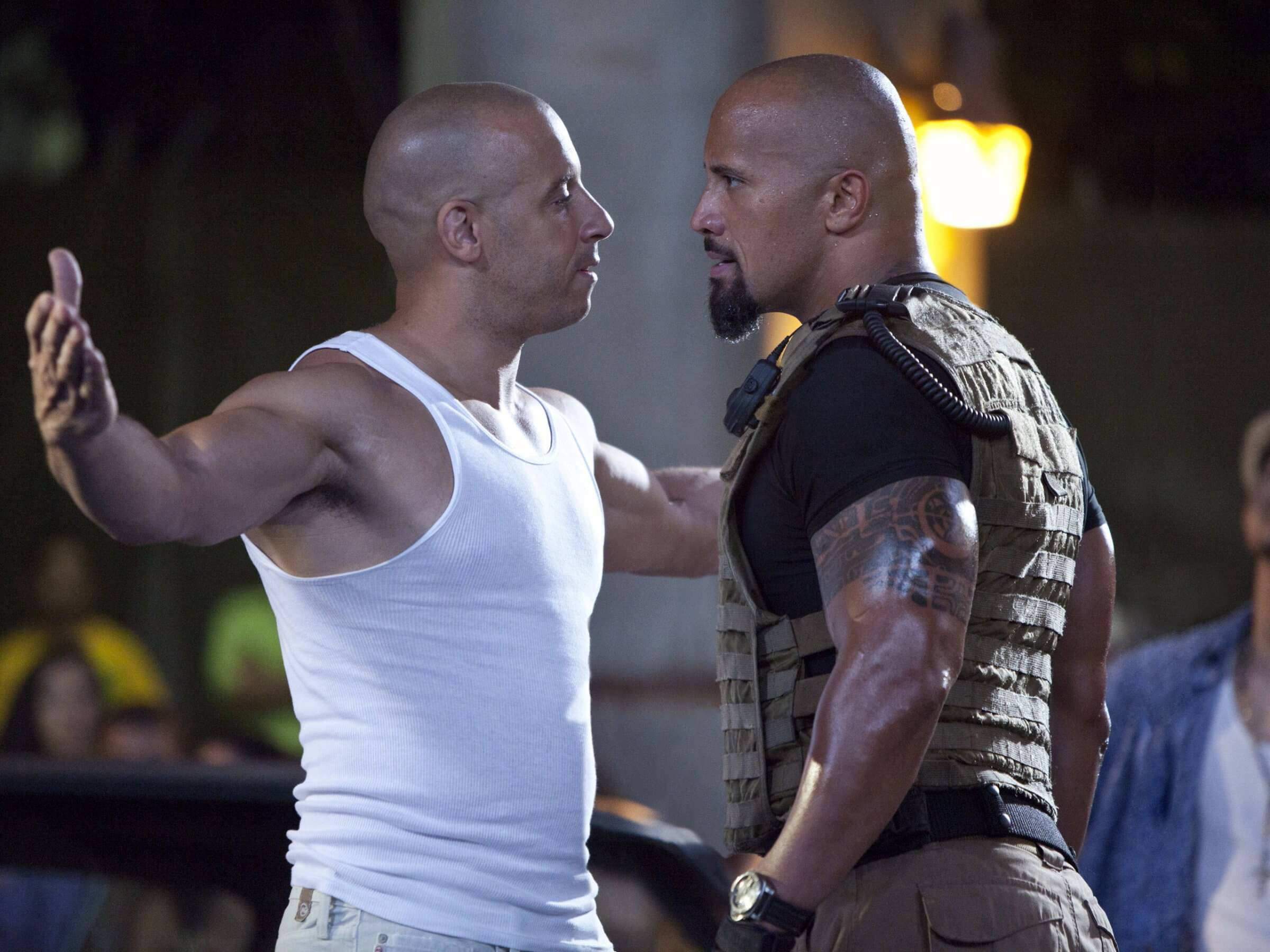 Vin Diesel wishes \'The Rock\' a happy birthday to finally quash long ...