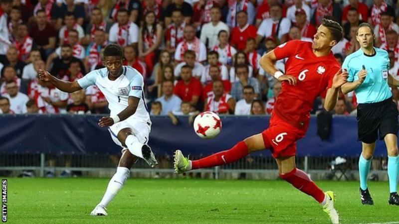 england U21 vs Poland