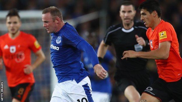 Rooney, Everton