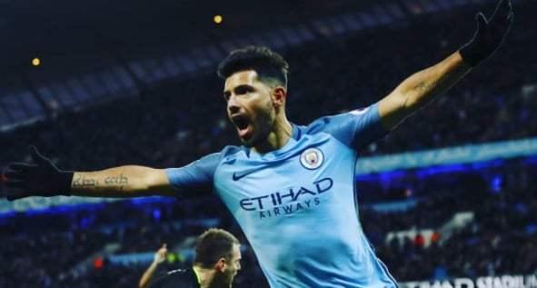 Sergio aguero, Manchester City, Aston Villa,