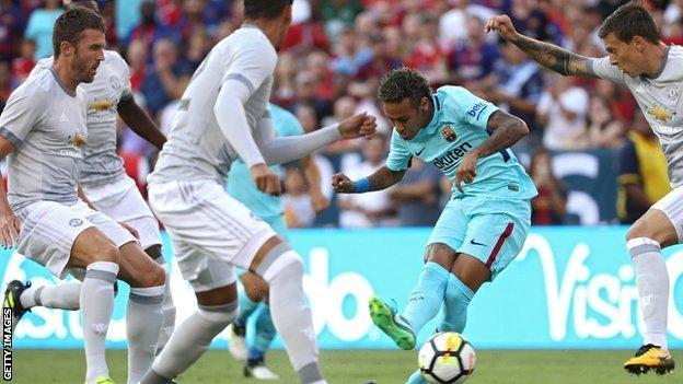 neymar, Mourinho,United pre-season