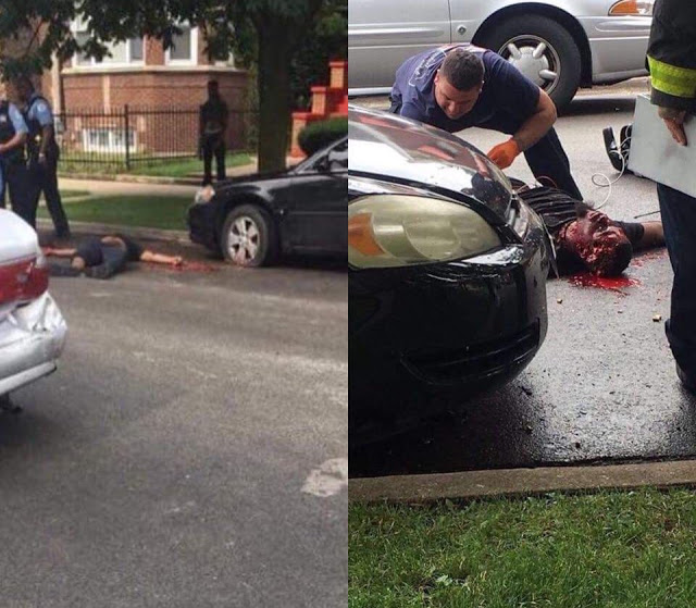 Chicago Shooting Three Killed And Gunman Shot Dead After: Popular Chicago Model Shot Severally In The Head After He
