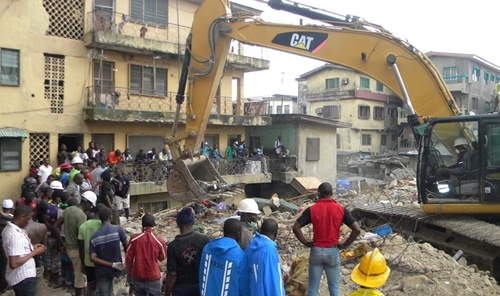 Red Cross, Collapsed Building, Ita Faaji, Baden School,