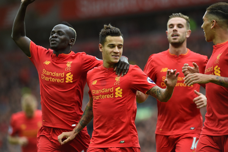 Mane, Coutinho, Others