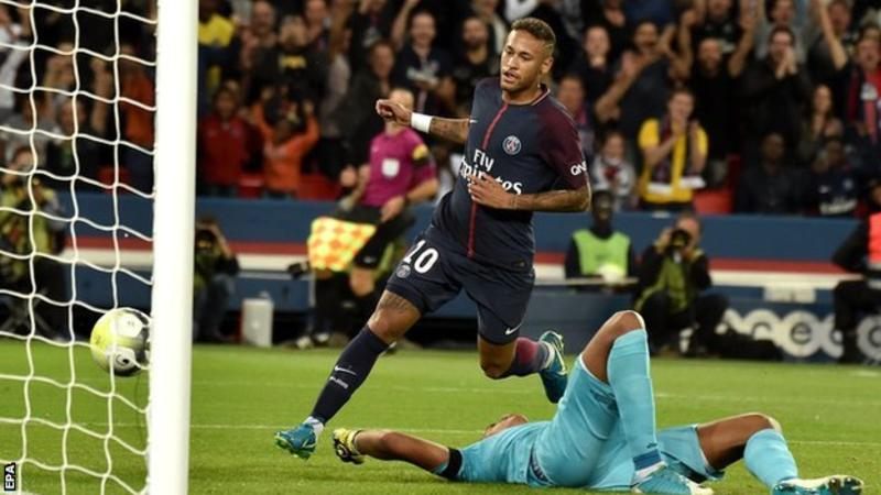 Neymar, Tebas, PSG