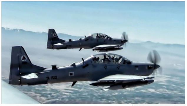Warplanes from US