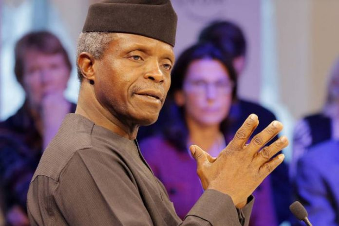 VP Yemi Osinbajo, NEC, Poverty eradication