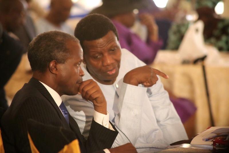 Pastor Adeboye, VP Yemi Osinbajo, Helicopter crash,