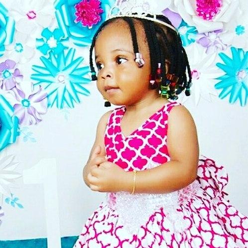 Lagos Big Babe Kikelomo celebrates daughter  OneHappyBirthay GodsBlessings queencruxifizo