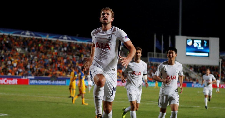 Tottenham Harry Kane, Champions-League-Apoel-Nicosia-vs-Tottenham-Hotspur