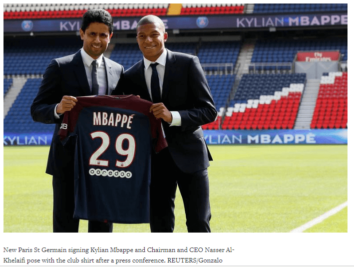 Mbappe unveiling
