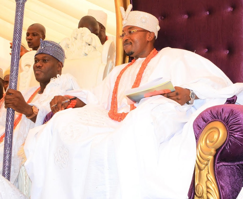 Image result for oluwo of iwo and ooni of ife