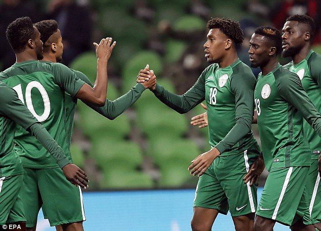 b77edc21d68 Revealed  Super Eagles Jerseys For Russia 2018 World Cup
