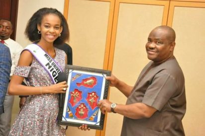 Wike African Queen Beauty Pageant
