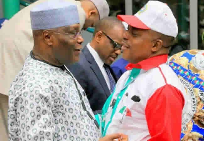 Atiku-and-Secondus, Buhari