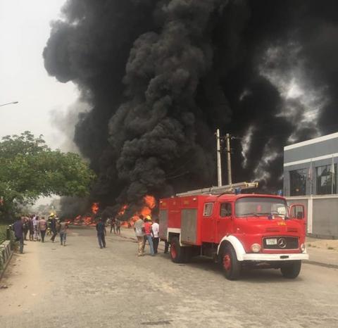 Fire, Accident, Lagos,