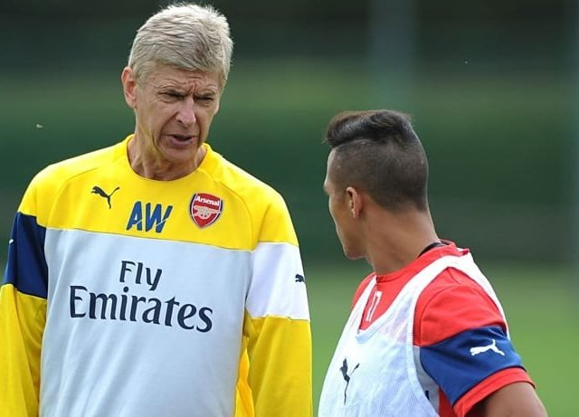 ALEXIS SANCHEZS MOVE TO MAN UTD ALMOST DONE  Wengerhellip