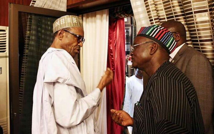 Gov Samuel Ortom, Benue state, APC, PDP, Pres Buhari,