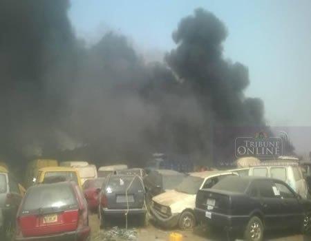 Lagos Fire, Badagry