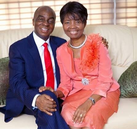 Image result for David Oyedepo and wife
