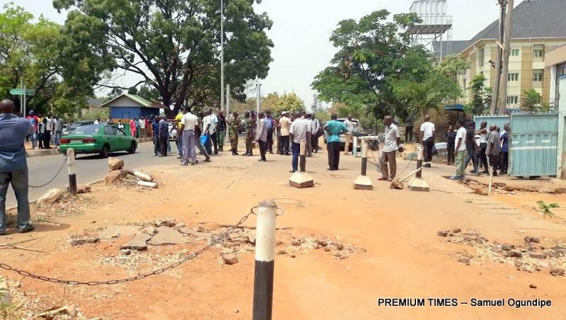 Abuja violence, Police, Army, FRSC